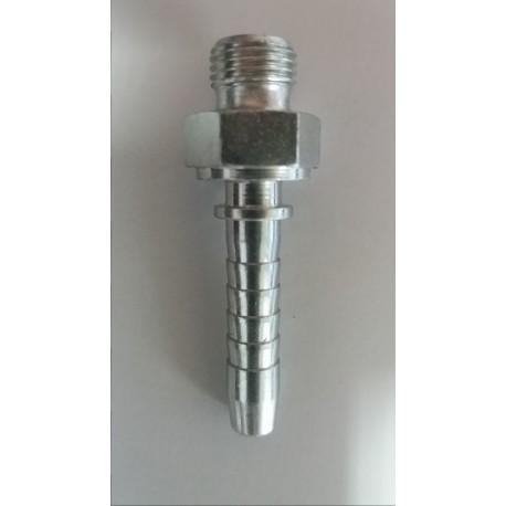 Króciec LPG na wąż gazowy 6 mm/M10*1
